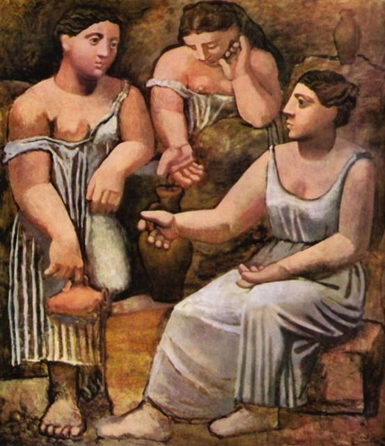 3 MULHERES NA FONTE - PABLO PICASSO