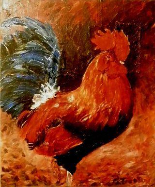 O GALO  - de chagall