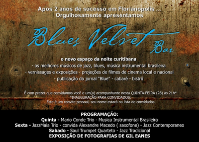 ConviteBluesVelvetCuritiba