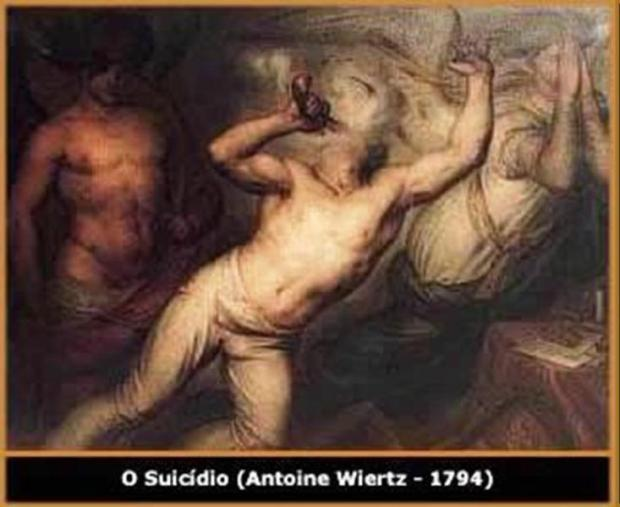 TONICATO MIRANDA - RASCUNHO DE UM SUICIDA - O Suicídio de Antoine Wiertz