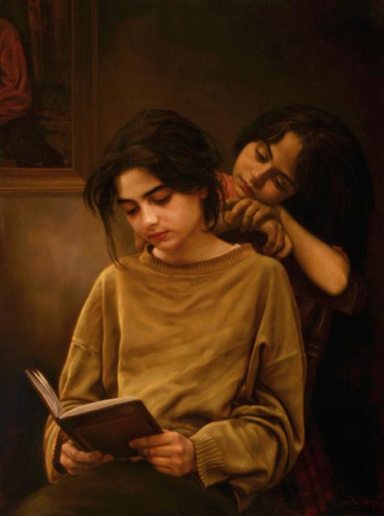IMAN MALEKI - 1Sisters-and-a-book
