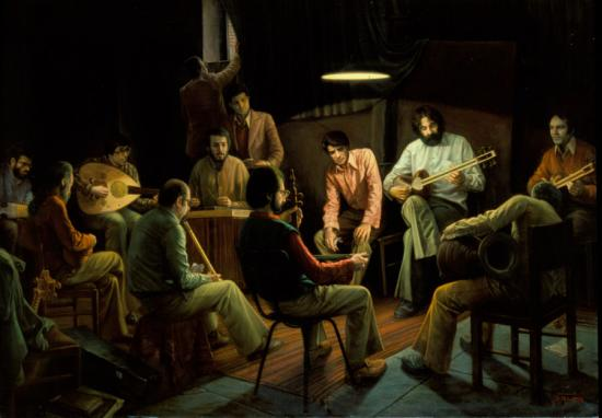 IMAN MALEKI - Composing-music-secretly