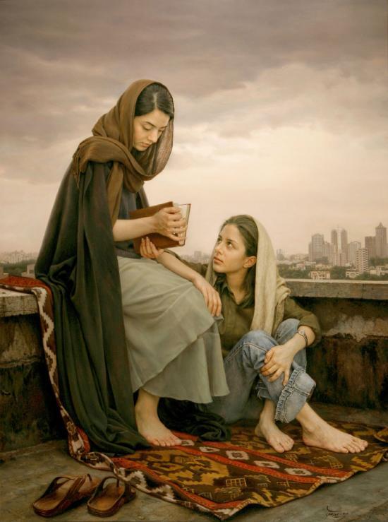 IMAN MALEKI - Omens-of-Hafez