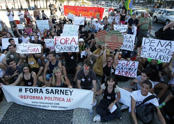 FORA SARNEY RIO DE JANEIRO