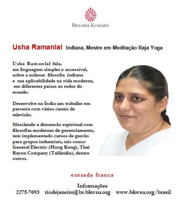 convite palestra Usha Ramanlal 2