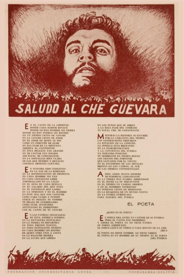 saludo a Che Guevara