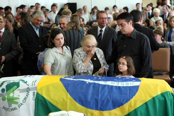 velório de ZILDA ARNS em Curitiba.PR-Brasil - 15/1/2010